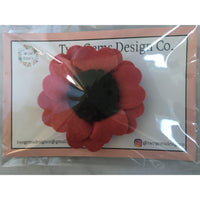 Hair Bow - Felt (Poppy)-Baby-Two Gems Design Co.-[color]-Swan Maternity | Baby-[size]