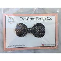 Hair Bow - Rounded (Little Dots)-Baby-Two Gems Design Co.-[color]-Swan Maternity | Baby-[size]