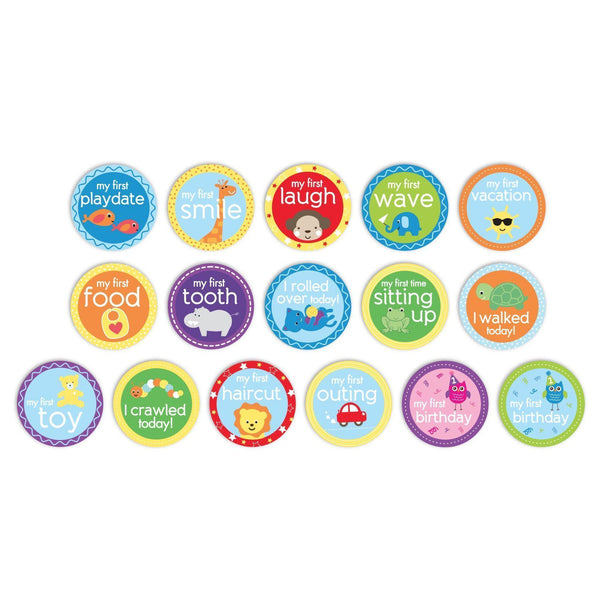Milestone Stickers (My First)-Baby-Pearhead-[color]-Swan Maternity | Baby-[size]