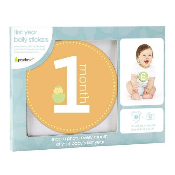 Milestone Stickers (Neutral)-Baby-Pearhead-[color]-Swan Maternity | Baby-[size]