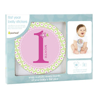 Milestone Stickers (Pink)-Baby-Pearhead-[color]-Swan Maternity | Baby-[size]