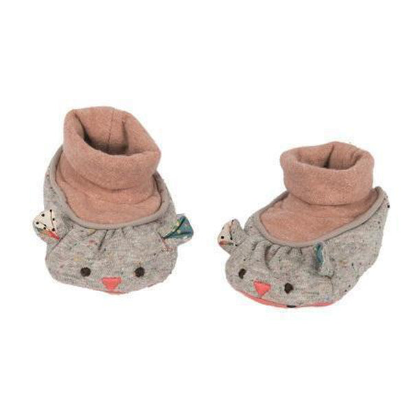 Mouse Slippers-Baby-Moulin Roty-[color]-Swan Maternity | Baby-[size]