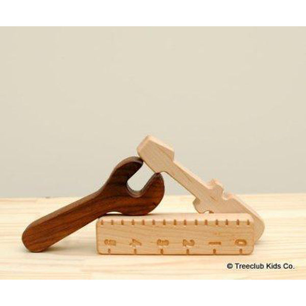 Wooden Tool Set-Baby-Treeclub Kids-[color]-Swan Maternity | Baby-[size]