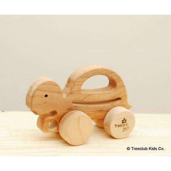 Wooden Turtle Push & Pull-Baby-Treeclub Kids-[color]-Swan Maternity | Baby-[size]