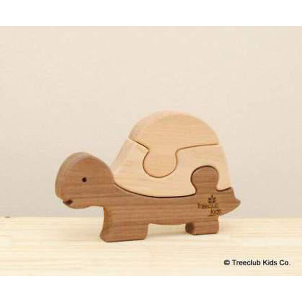 Wooden Turtle Puzzle-Baby-Treeclub Kids-[color]-Swan Maternity | Baby-[size]