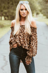 Go Get Em - Leopard Print Top - I Am Greek Life