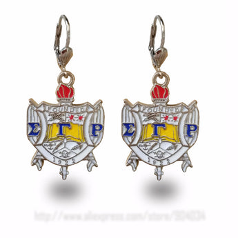 Sigma Gamma Rho Earrings - I Am Greek Life
