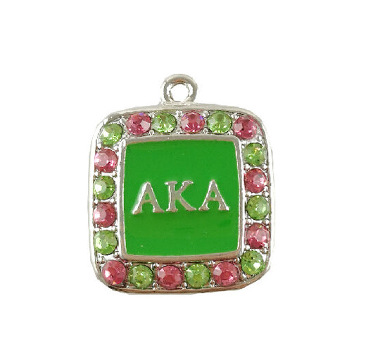 AKA Fashion Charm - I Am Greek Life