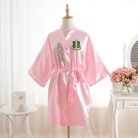 O My - Loose Silk  AKA Bathrobe - I Am Greek Life