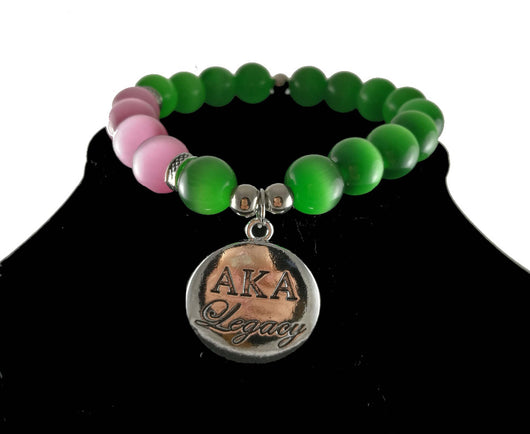 I Am So 1908 AKA Legacy Bracelet - I Am Greek Life