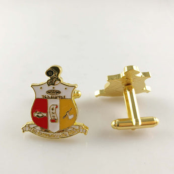 Nupe Shield Cufflinks - I Am Greek Life