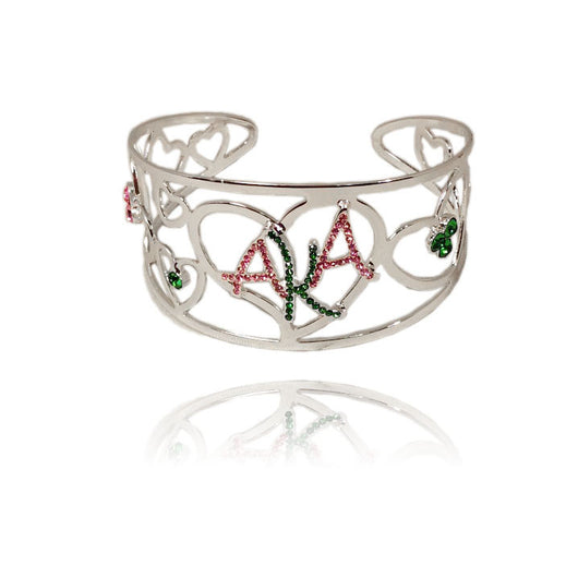 AKA Heart Bangle - I Am Greek Life