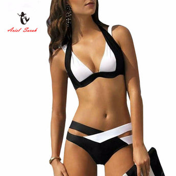 New Brazilian Cross Look  Women Swimwear - I Am Greek Life