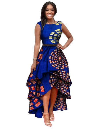 O-Neck African Embroidery Dashiki Dress - I Am Greek Life