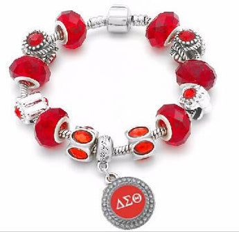 Devastating DST Sorority Charm Bracelet - I Am Greek Life