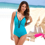One Piece Retro Swimsuit - I Am Greek Life