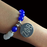 I Am So  1920 ZPB Stainless Steel  Bracelet - I Am Greek Life