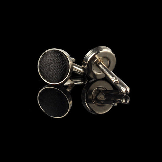 Any occasion Round Cloth Cufflinks - I Am Greek Life