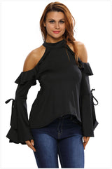 Go Girl Off Shoulder Top - I Am Greek Life