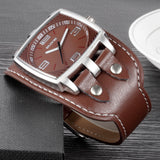 It's Your Time Leather Casual Big Watch - I Am Greek Life