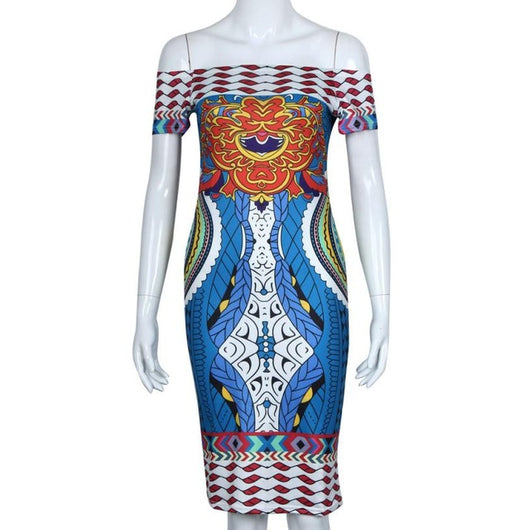 Goddess Dashiki Dress - I Am Greek Life