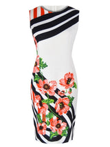 Sun Kiss Flower Printed Dress - I Am Greek Life