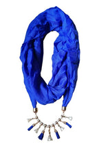 I Am SGR Scarf With Necklace - I Am Greek Life