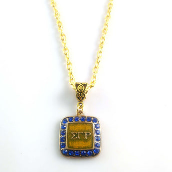 Sigma Gamma Rho Necklace - I Am Greek Life