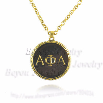 Alpha Phi Alpha Symbol Necklace - I Am Greek Life