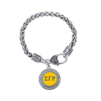 Sigma Gamma Rho Crystal Circle Bracelet - I Am Greek Life