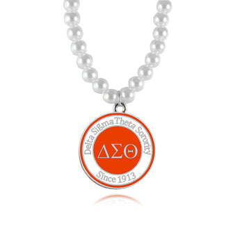 Elegant Delta Sigma Theta Necklace - I Am Greek Life