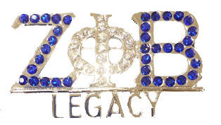 Zeta Phi Beta Legacy Crystal - I Am Greek Life