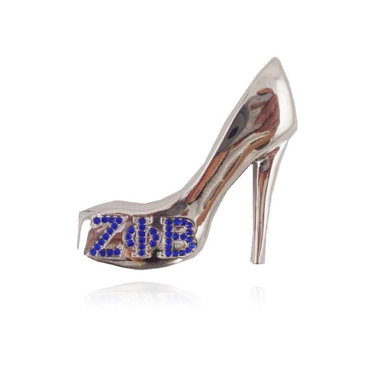 High-Heel Lapel Pin Brooch Zeta Phi Beta - I Am Greek Life