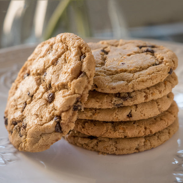 Coconut Chocolate Chip Flourless Cookie