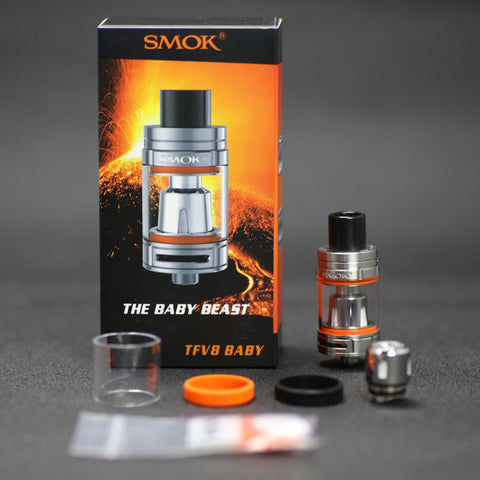 TFV8 Baby Tank Silver