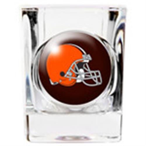 personalized nfl shot glass browns