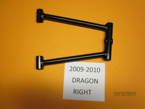 Polaris Dragon & RMK Right Upper Control Arm 2009-2010