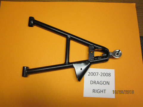 Polaris Dragon & RMK Right Lower Control Arm 2007-2008