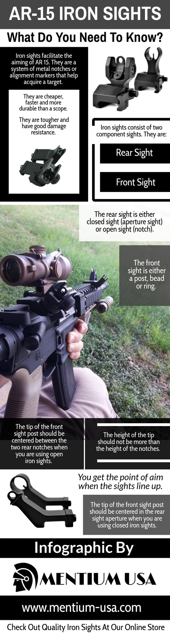 Image showing infographic about Reflex sight