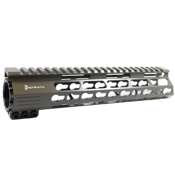 "10"" Cerakote Flat Dark Earth Coating - Ultra Light Slim Keymod Shark Series Free Float Handguard"