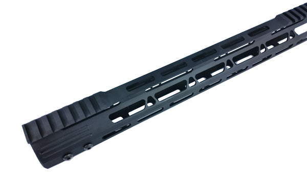 "15"" Slim M-Lok Free Float Handguard for High Profile SM .308 Rifle"