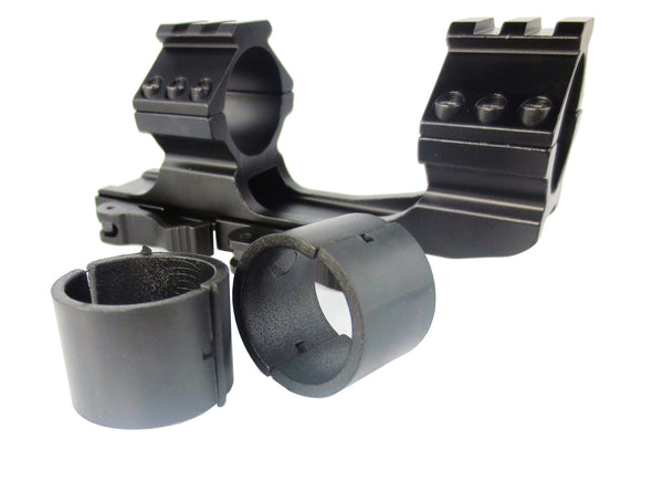 "AR15 M4 Cantilever 30mm / 1""  Quick Release Offset Scope Mount"
