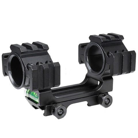 "Scope Mount with Level Bubble for 1"" and 30mm scopes -SKU: 5020"