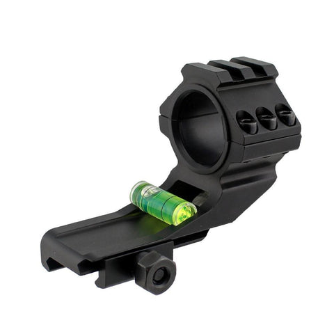 "Cantilever Scope Mount with Level Bubble for 1"" and 30mm scopes -SKU: 5023"