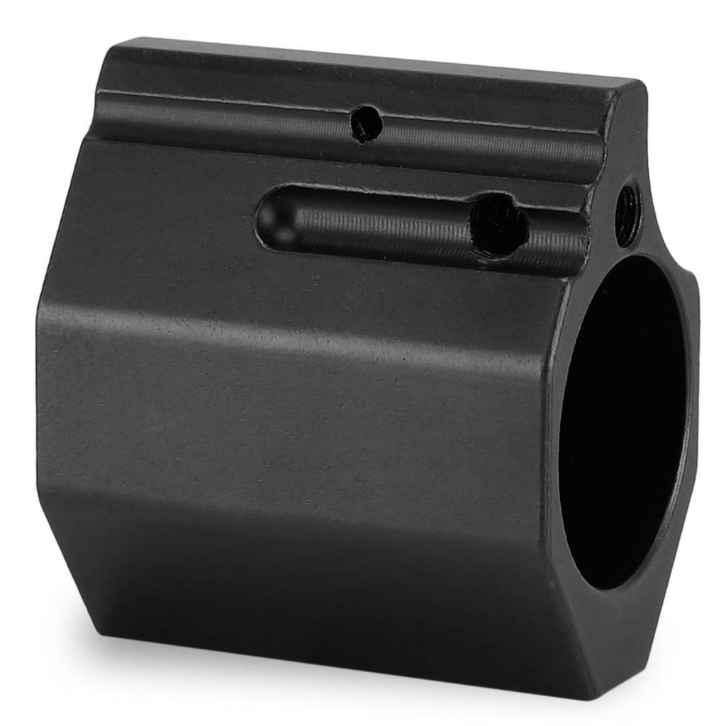 "Gas Block 0.75""Low Profile Steel Adjustable"
