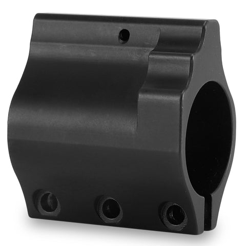 "Gas Block 0.75""Low Profile Steel Clamp On-DX750-CO"