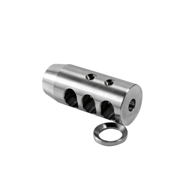 Stainless Muzzle Brake for 223 Rifle-MZ5