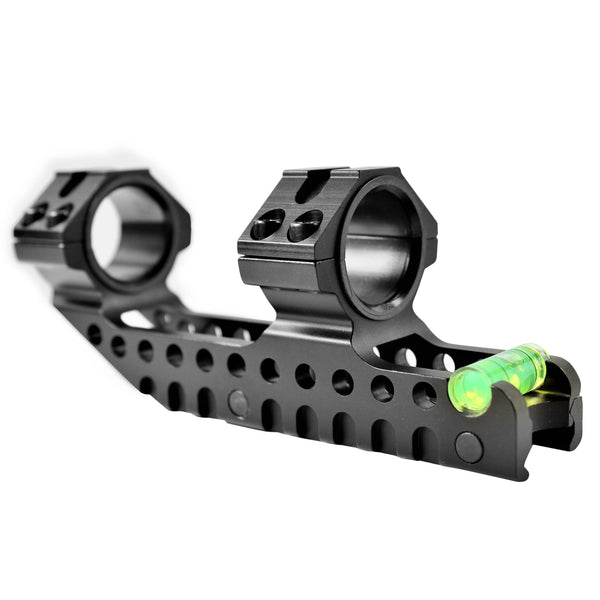 "AR15 M4 30mm / 1""  Cantilever Scope Mount with Level Bubble DM61"