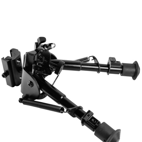 Adjustable Spring Return Picatinny & Swivel Tactical Bipod V1