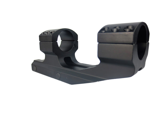 "AR15 M4 Cantilever 1"" (25.4mm) Offset Scope Ring"